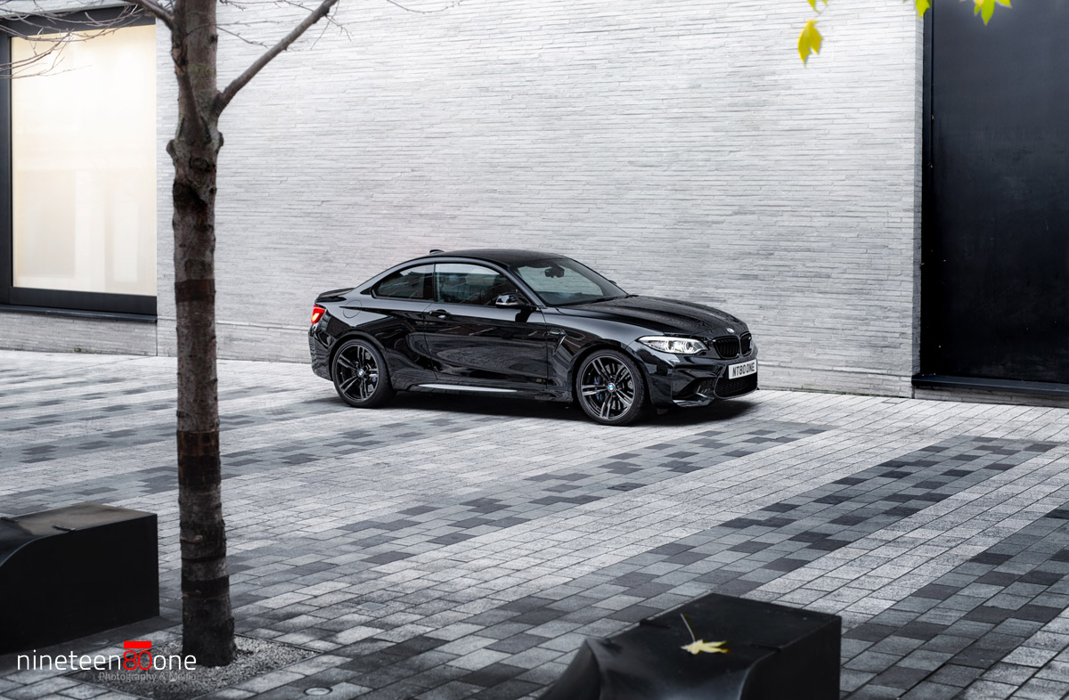 bmw m2 london photoshoot