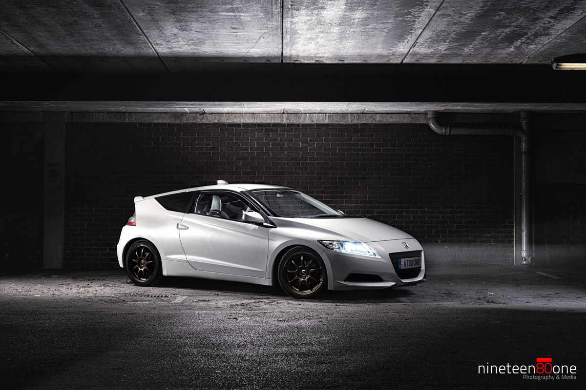 honda strobe lightpainting