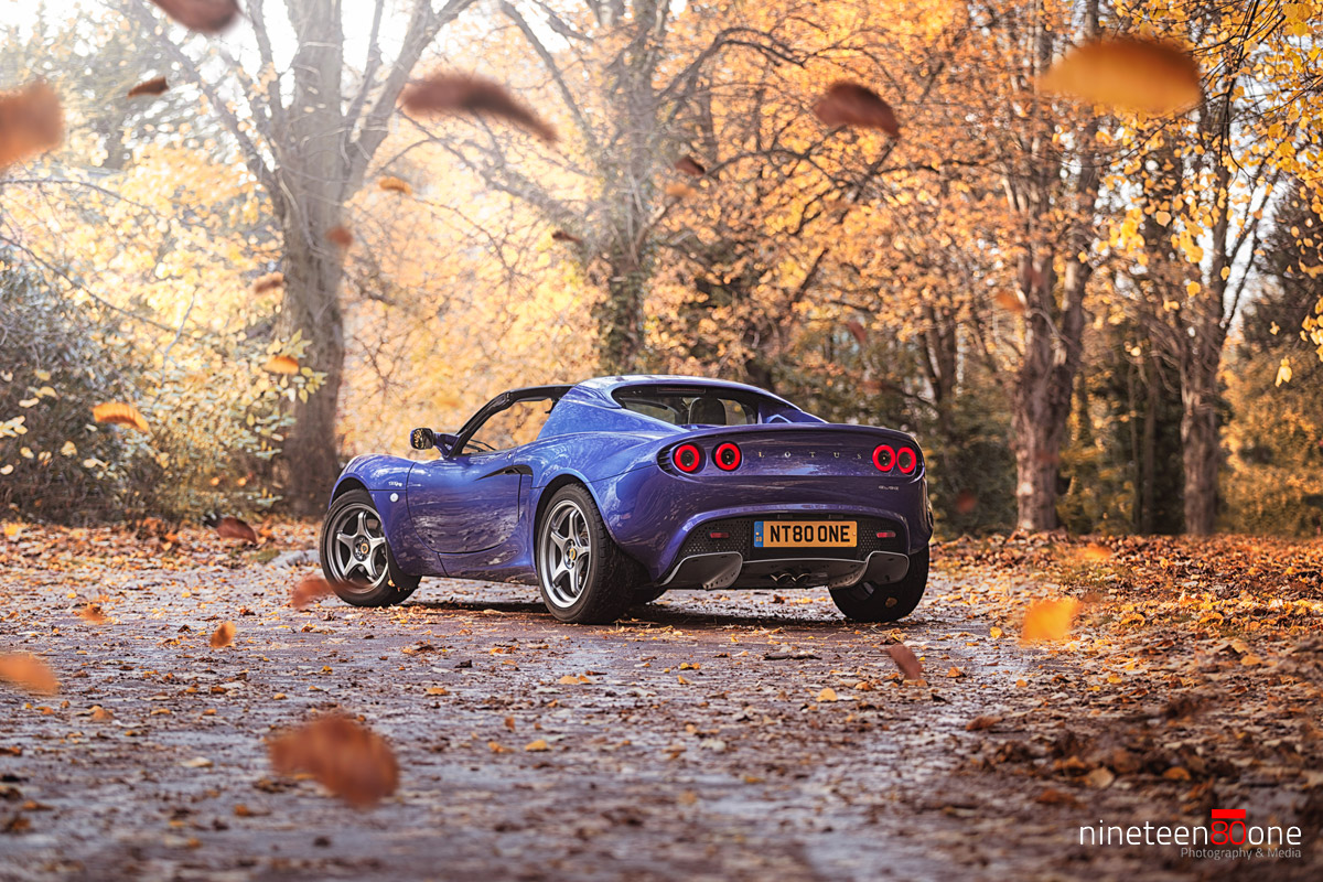 lotus elise autumn photo