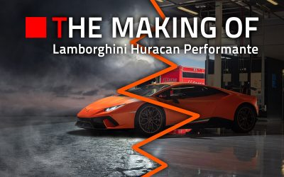 The Making Of: Lamborghini Huracan Performante Halloween Edition