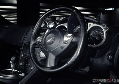 370z interior photography