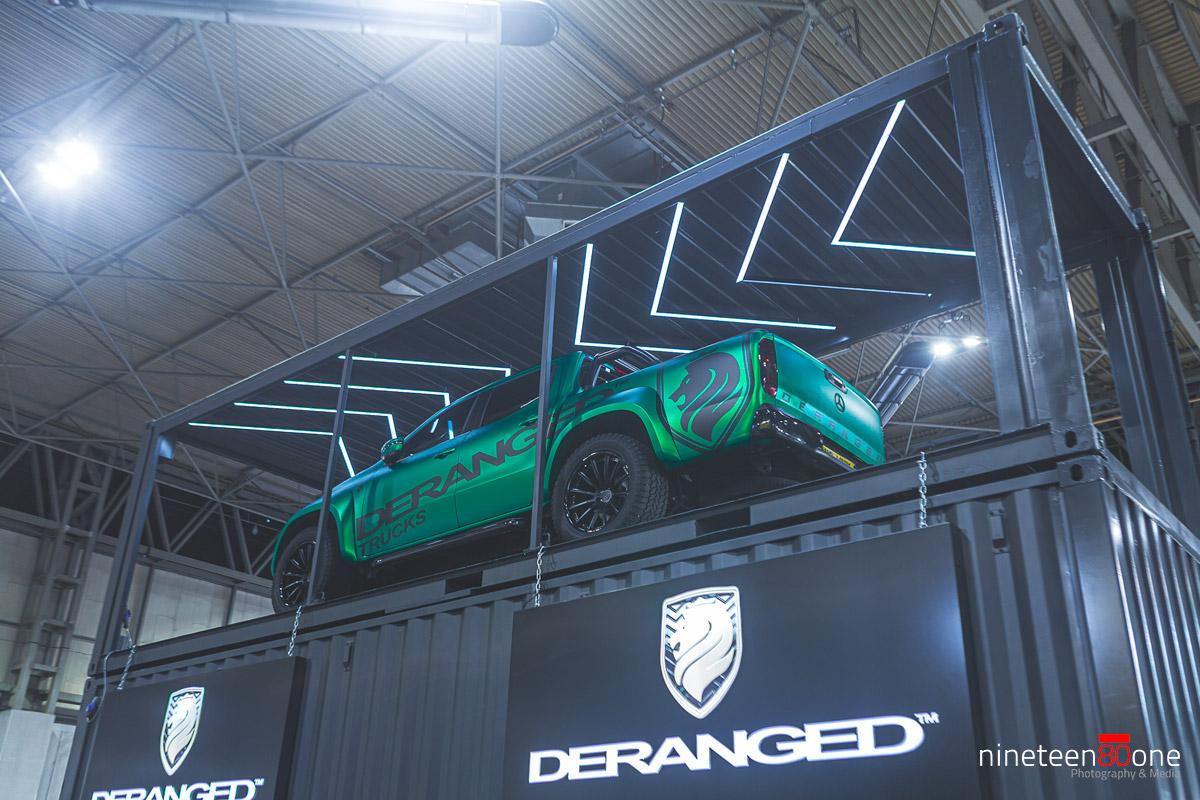 autosport deranged mercedes pickup
