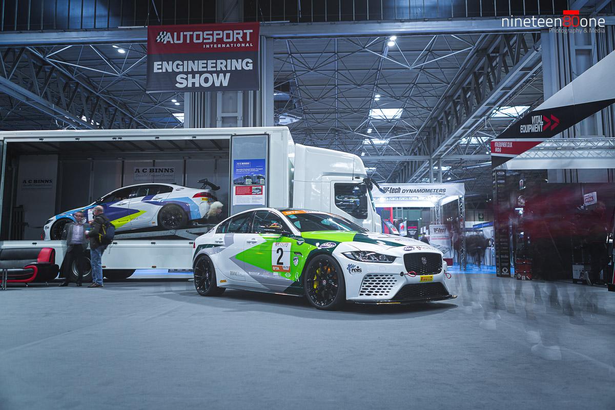 autosport jaguar race car