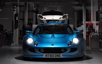 Blue is the new Black. Lotus Exige S1