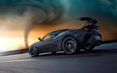 The Storm Chaser. Lotus Evora GT430