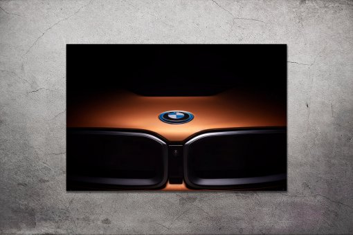 bmw wall poster