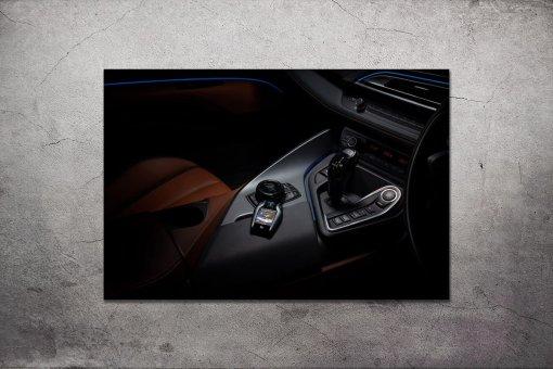 supercar interior print