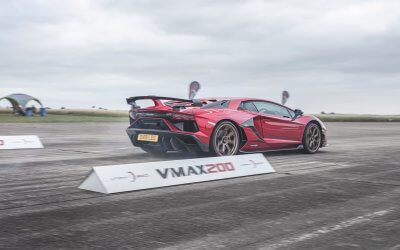 Drive your car to its limits. VMAX200 MPH