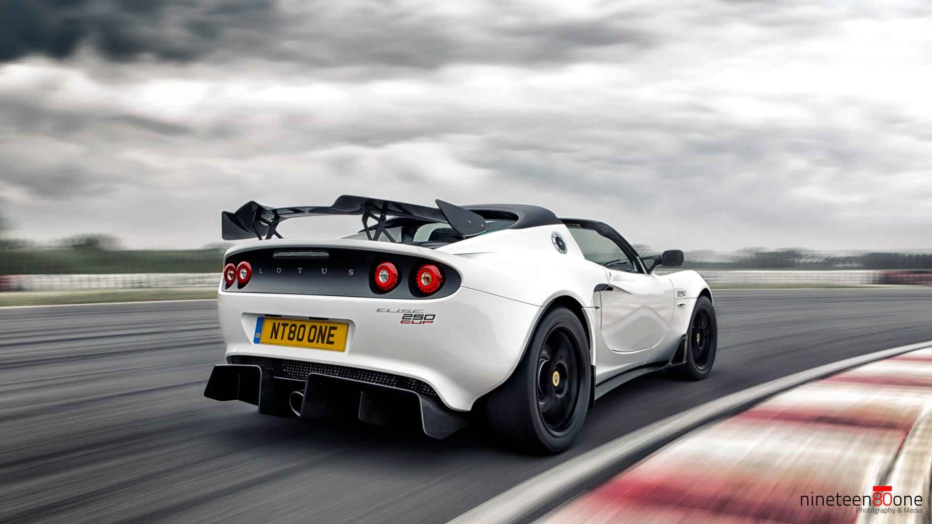 Lotus Elise Cup250 desktop wallpaper