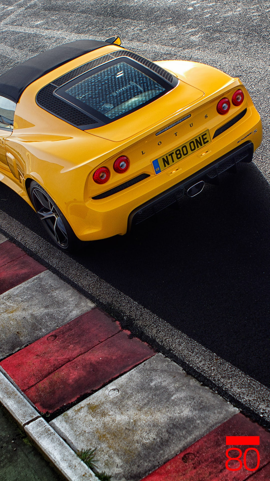 Lotus Exige Roadster smartphone wallpaper